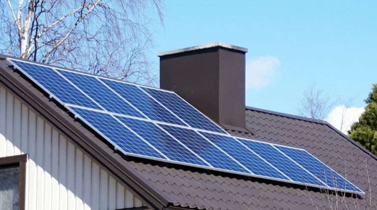 Solar Panel System at Home