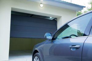 Malfunctioning automatic garage door