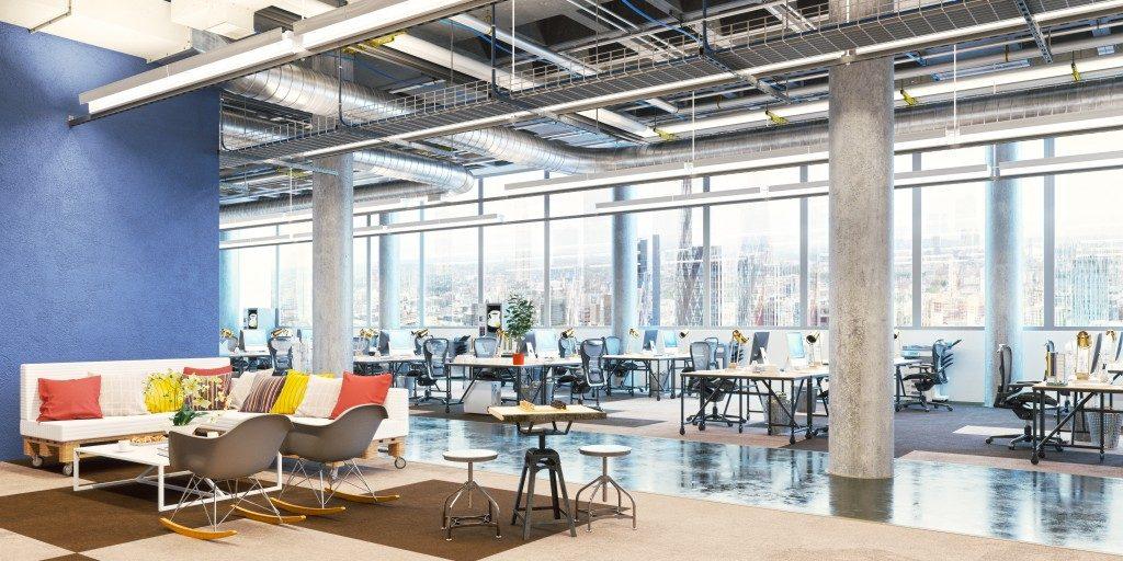 modern office inteior