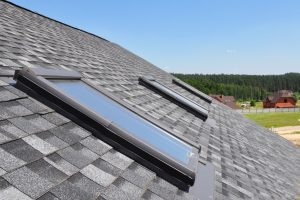 Residential asphalt roof shingles