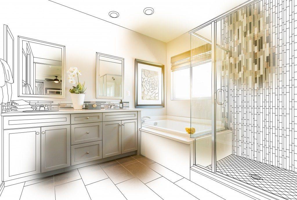 Bathroom remodeling plan