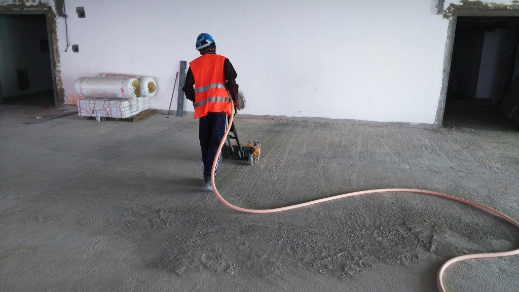 Urethane Concrete Application
