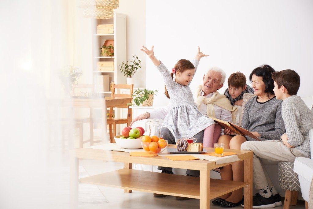 elderly at home