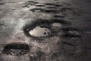Road potholes