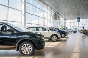 New cars on display
