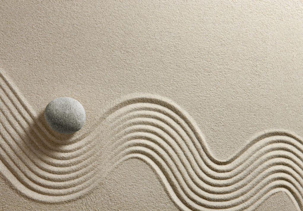 zen garden concept