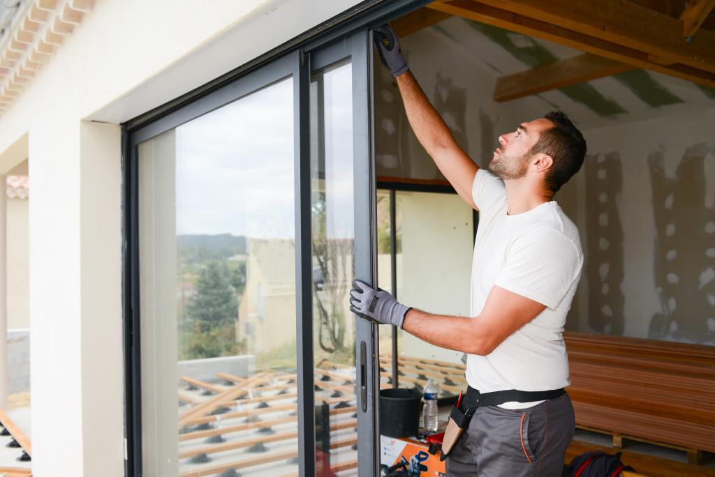installing sliding door