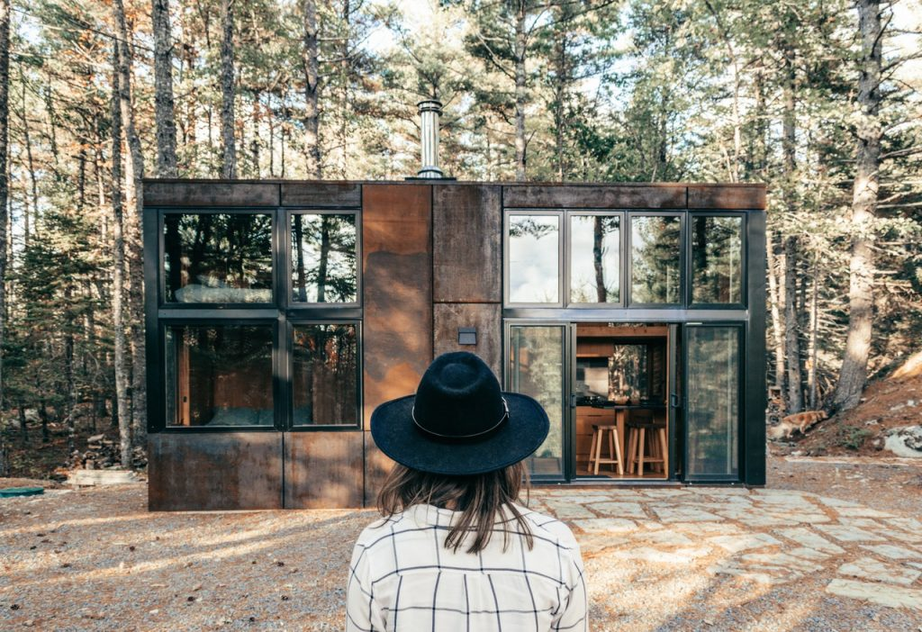 tiny house owner