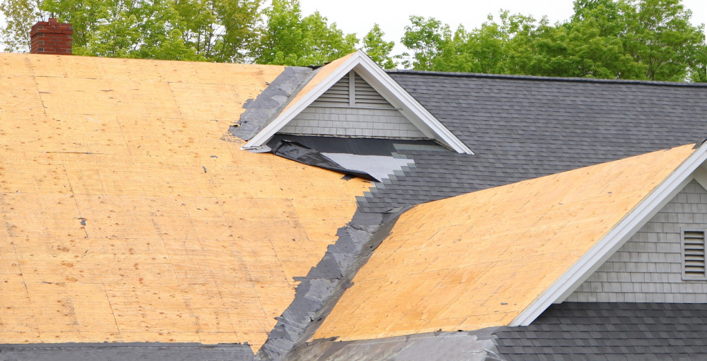 wooden roofing material